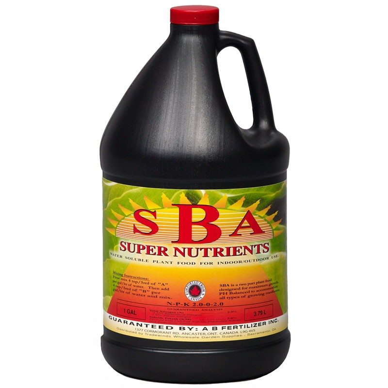 Super Nutrients SBA Gallon