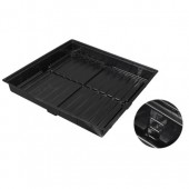 Easy Clean ABS Black Tray OD 2 ft x 4 ft