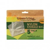 Grower's Edge Nylon Storage Bag - 1 mil 19 in x 23.5 in - 10/Pack (12/Cs)